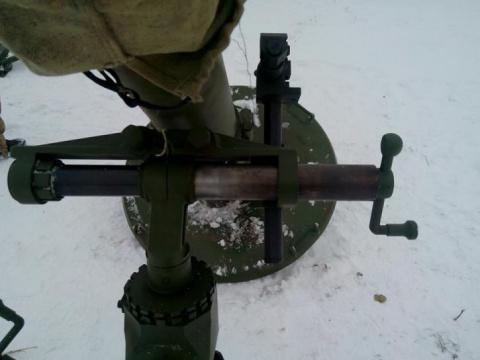 Украинский миномет «Молот» у…