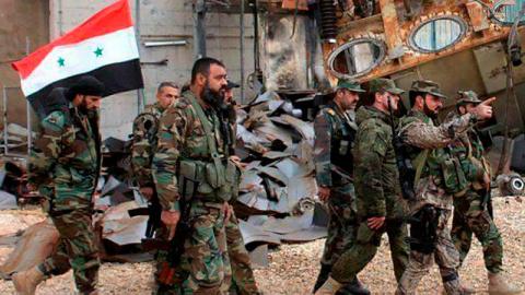 Сирийская армия пресекла поп…