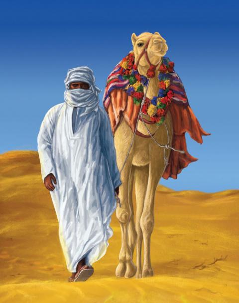 Бедуин и араб. Восточная притча