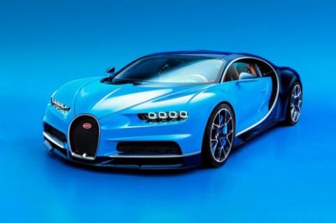 Мировая премьера гиперкара Bugatti Chiron