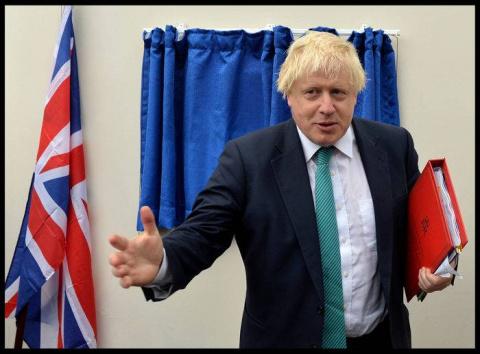 Джонсон: Британия не может иметь нормальных отношений с Россией