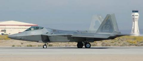 Прототип истребителя F-22 сд…