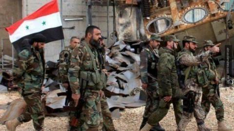 Месть за Хаму: Армия Асада г…