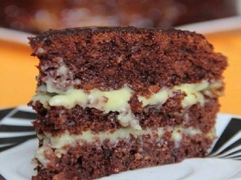 Аппетитный домашний тортик. Идеальный вариант для праздника!