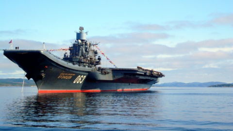 Авианосец «Адмирал Кузнецов»…