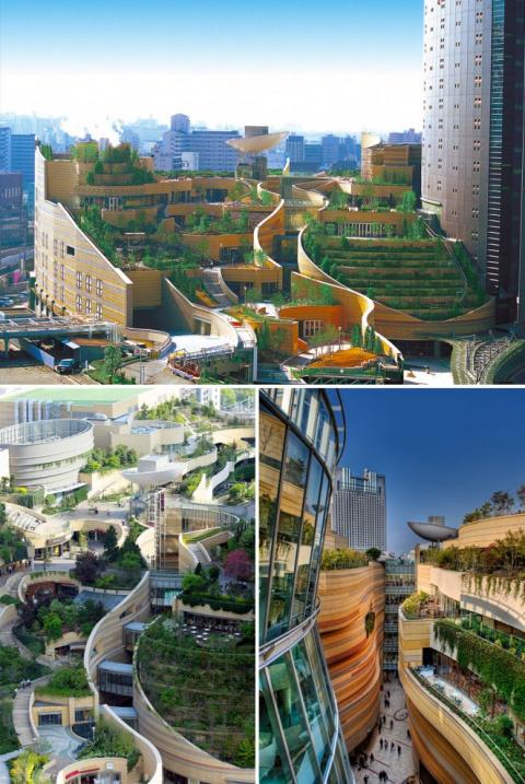 Сногсшибательные примеры современной архитектуры Японии
