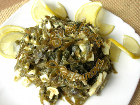 Самый полезный салат из морской капусты