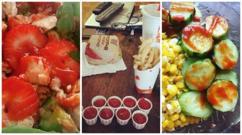 19 фотографий, которые поймет лишь тот, кто не может жить без кетчупа