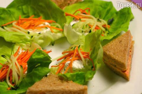 Сэндвичи с огурцами: рецепт …