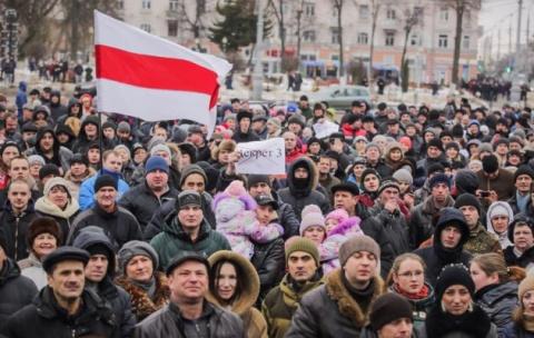 Майдан в Беларуси: новые акц…