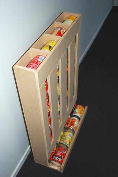 Идея для хранения консервов …
