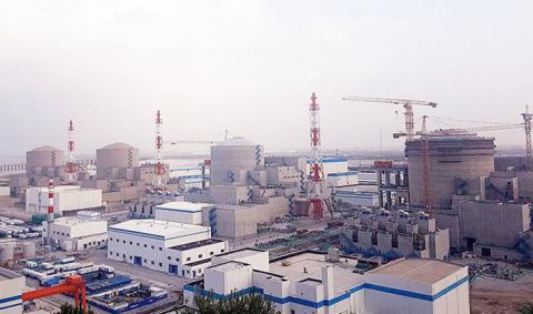 В Китае стартовал процесс физического пуска третьего энергоблока Тяньваньской АЭС