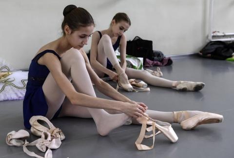 Будни Новосибирского государственного хореографического училища
