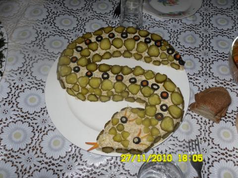"""Салат """"Змейка"""""""