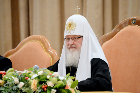 Патриарх Кирилл: работа в це…