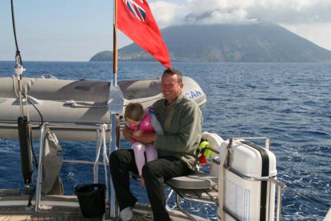 Путешествие у вулкана Стромболи