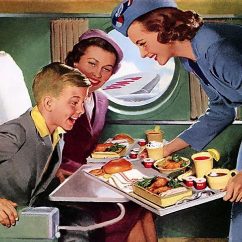 Авиационный ликбез. Еда в самолетах. История высокой кухни