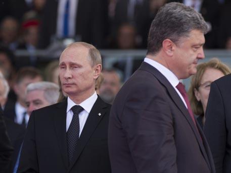 В Кремле назвали условия встречи Путина и Порошенко
