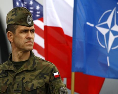 Польские генералы и офицеры …
