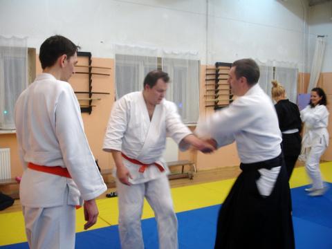 Семинар по базовой технике Айкидо 17-19 декабря 2010 г.