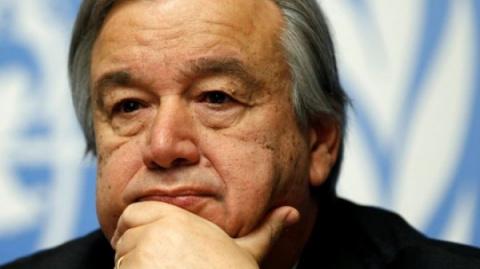 Генсек ООН обеспокоен ситуац…