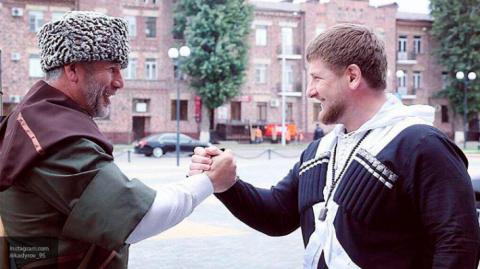 Глава Чечни Рамзан Кадыров п…