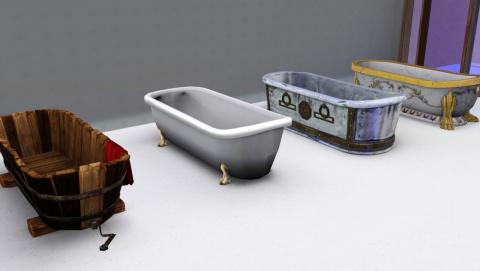 Средневековые ванны от Omega Star