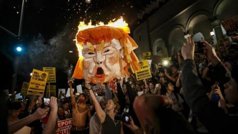 Выборы в США прошли, но народ не расходиться!