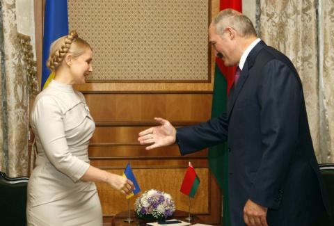 Лукашенко обидел Тимошенко с…
