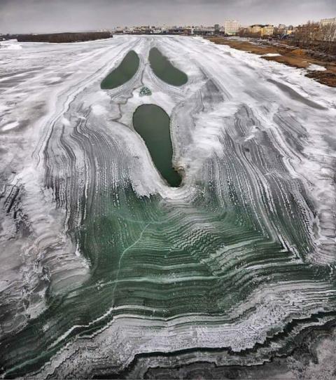 25 удивительных фотографий, показывающих насколько сурова бывает зима