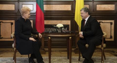 Грибаускайте выставила Украи…