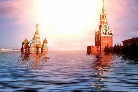 Москва уходит под воду
