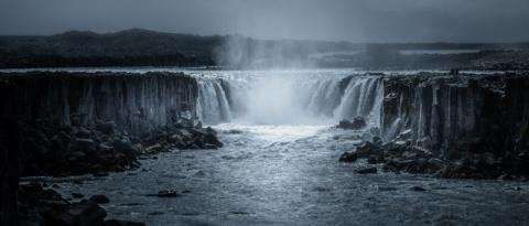 Призрачные пейзажи Исландии