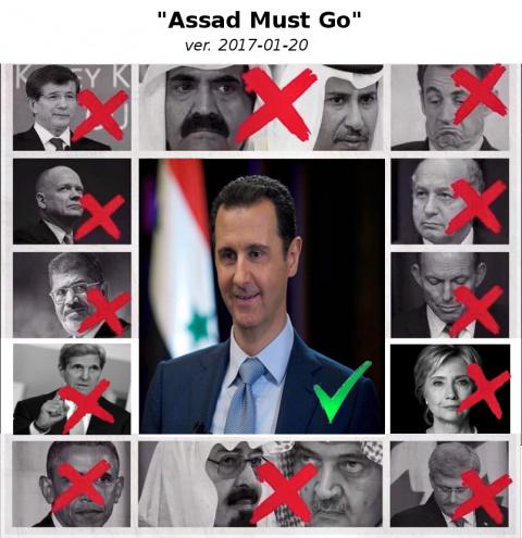 Assad Must Go 2017