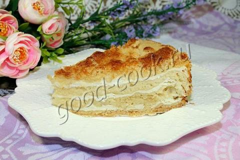 насыпной пирог с творогом. Р…