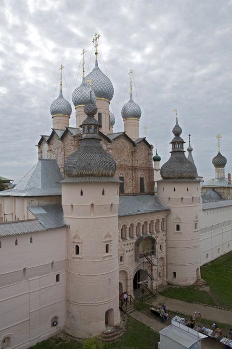 Надвратная церковь Воскресения Христова Ростовского кремля