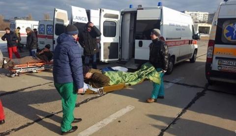 В Одессу доставили раненых у…