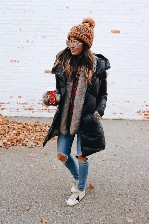 Как носить шапку зимой: 8 мо…