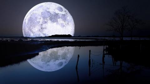 Луна — близкая и загадочная on 19 сентября 2017