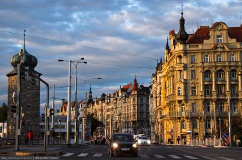 Прага. Вдоль реки Влтавы