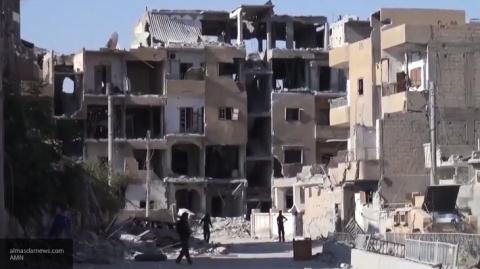 Затяжной штурм Ракки: удар п…