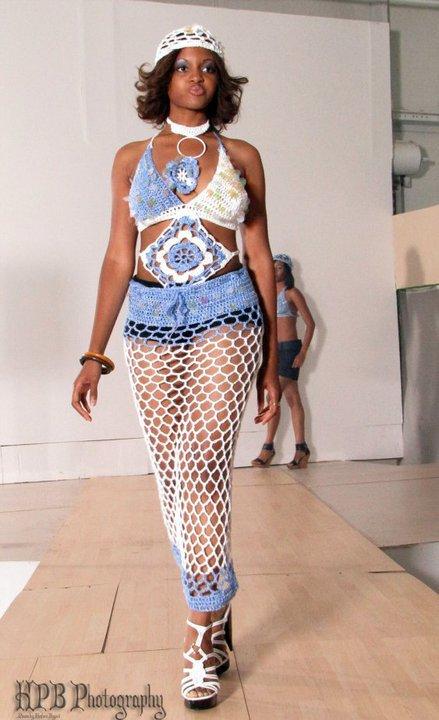 Модный показ от Gina Renay  в Нью-Йорке