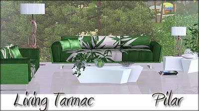 Living Set Tarmac by Pilar