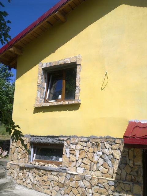 дом  в село кошов,болгария, 84кв.м и гараж,земля 520кв.м,цена 16000евро 00359878600910