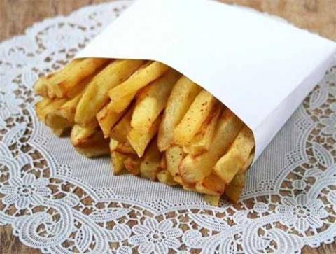 Хрустящий картофель фри без масла