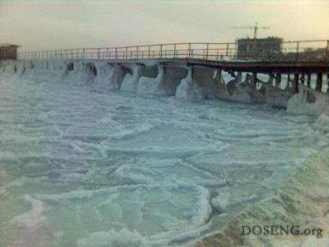 Как замерзает море (8 фото)