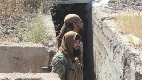 Войска САР при поддержке ВКС…