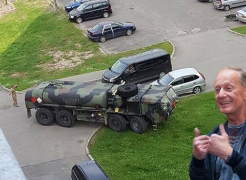 Ахахахах!!! Американцы заблудились в Латвии, пытаясь защитить её от России