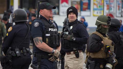 В США полиция за год расстре…