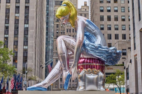 Джеффа Кунса обвинили в плагиате работы украинской художницы